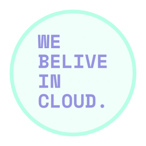 we believe in cloud 300x300 - Cloud Services Public - Private - Hybrid