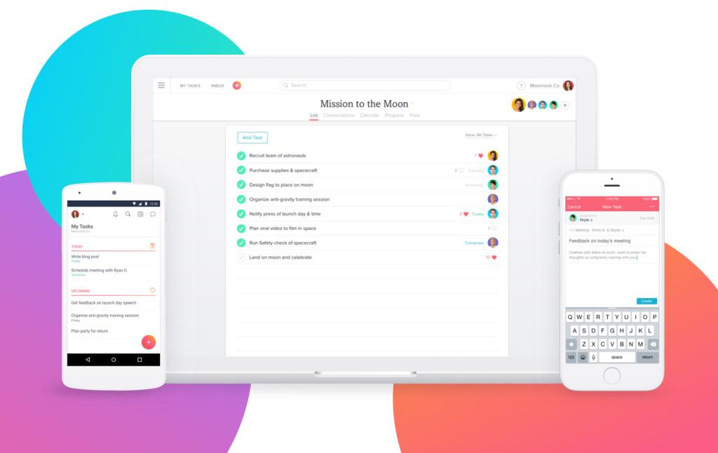 asana - Top collaboration tools for DevOps teams