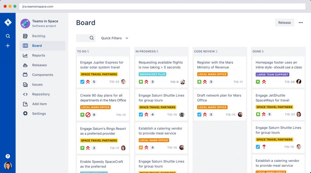 jira 1024x572 - Top collaboration tools for DevOps teams