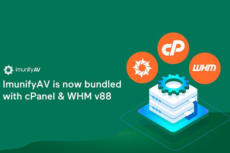 ImunifyAV becomes the default antivirus solution of cPanel & WHM v88