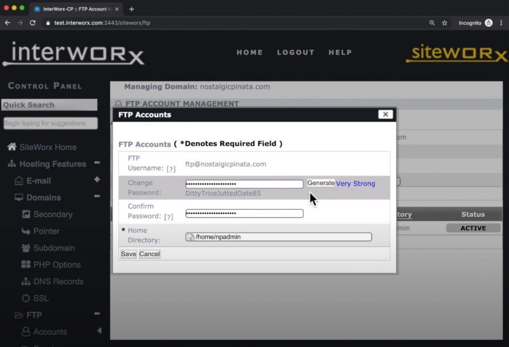 interworx gui 1024x698 - InterWorx collaborates with Magic Spam to provide a new anti-spam plugin
