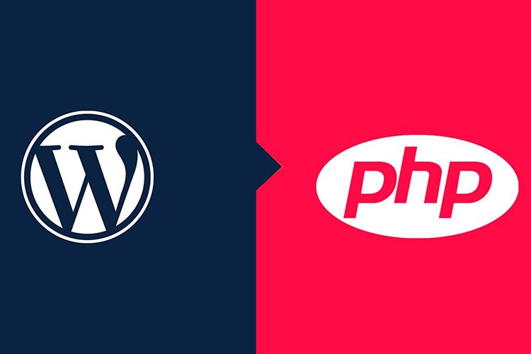 Minimum PHP recommendation for WordPress is 7.2