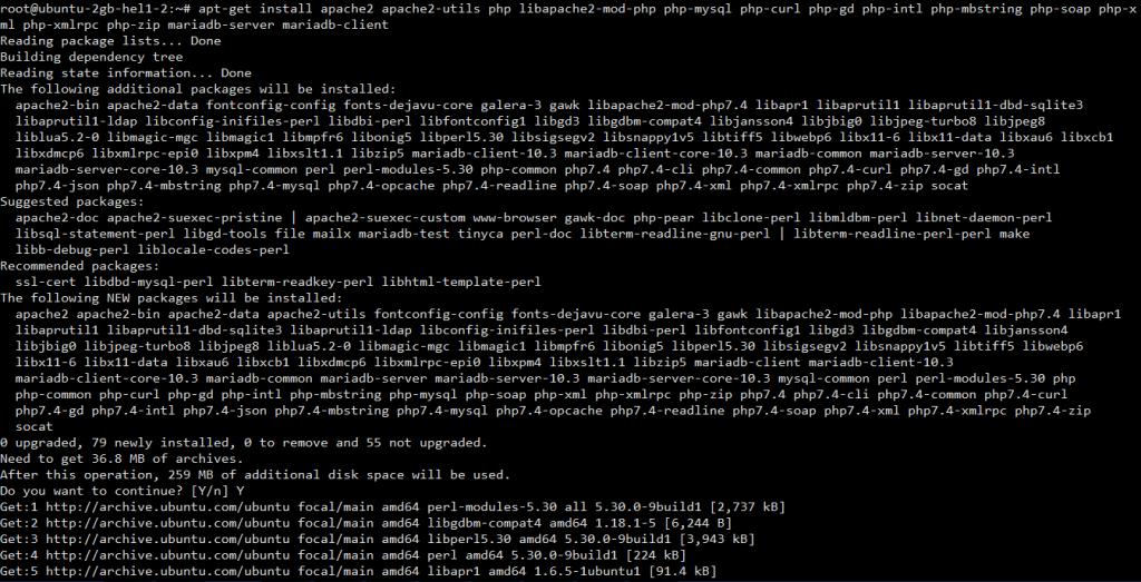 lamp 1 1024x523 - How to Install LAMP & WordPress Ubuntu and Debian