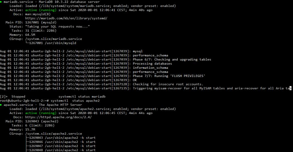 lamp 2 1024x533 - How to Install LAMP & WordPress Ubuntu and Debian