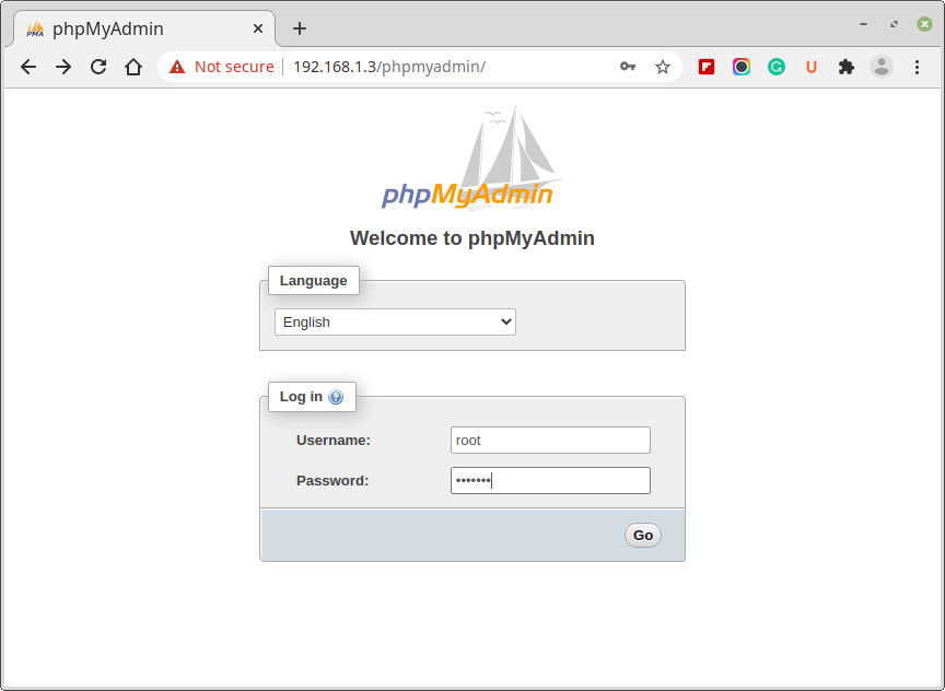 phpmyadmin login - How to Install LAMP & WordPress Ubuntu and Debian
