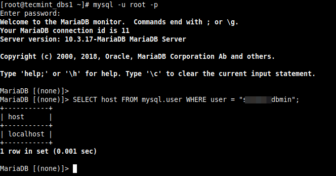 2 - How to Fix ERROR 1130 (HY000): Host is not allowed to connect to this MySQL server