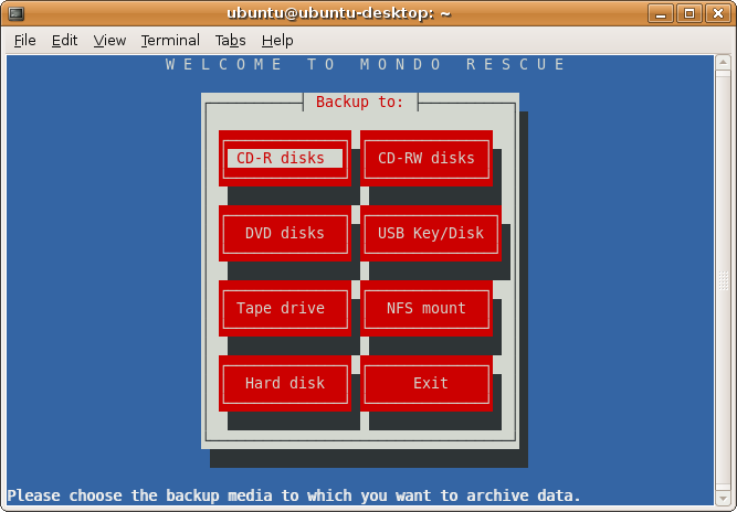 """mondo rescue - Top Open Source """"Disk Cloning/Backup"""" Tools for Linux administrator"""