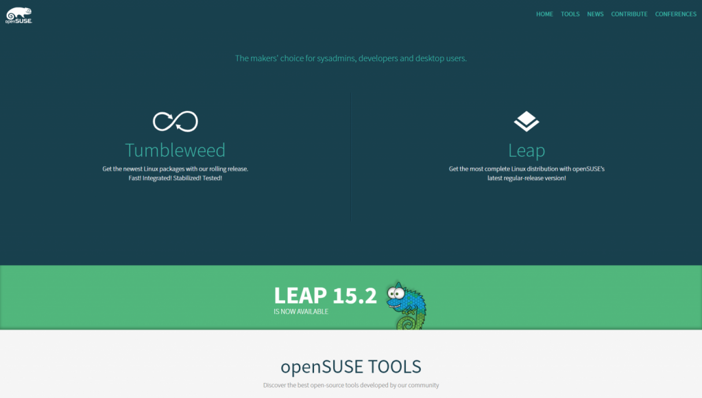opensuse 1536x871 1 1024x581 - Best Linux server distros