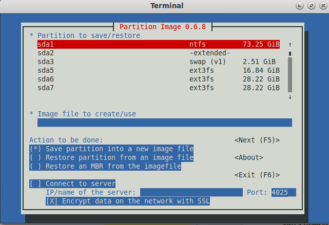 """partimage - Top Open Source """"Disk Cloning/Backup"""" Tools for Linux administrator"""
