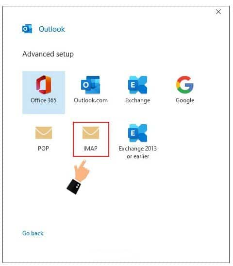 using outlook for email accounts - How Setup Outlook with Email Hosting (Cpanel)