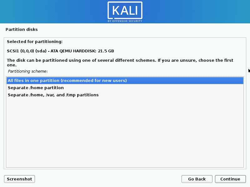 install kali linux complete steps 14 - How to install KaliLinux in VirtualBox