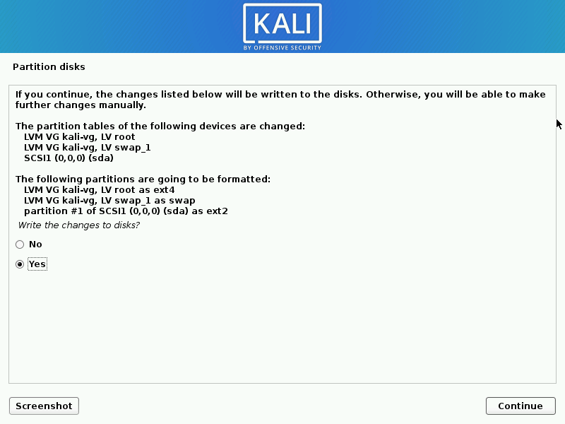 install kali linux complete steps 17 - How to install KaliLinux in VirtualBox