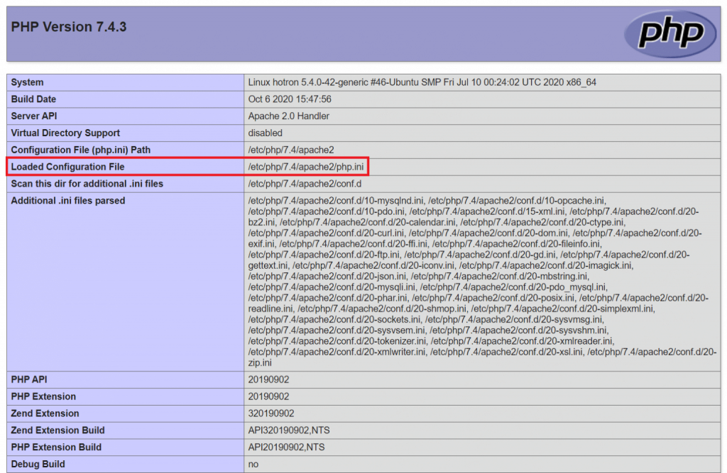 php php.ini configuration file location 1536x1000 1 1024x667 - Where is PHP php.ini Configuration File Location ?