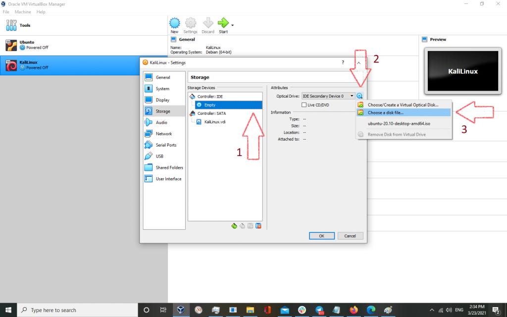 vbox kali 5 1024x640 - How to install KaliLinux in VirtualBox