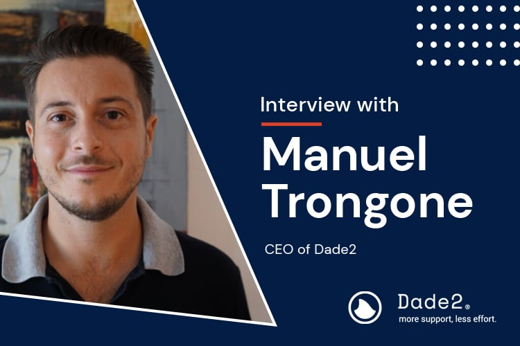 Interview: Manuel Trongone, CEO of Dade2
